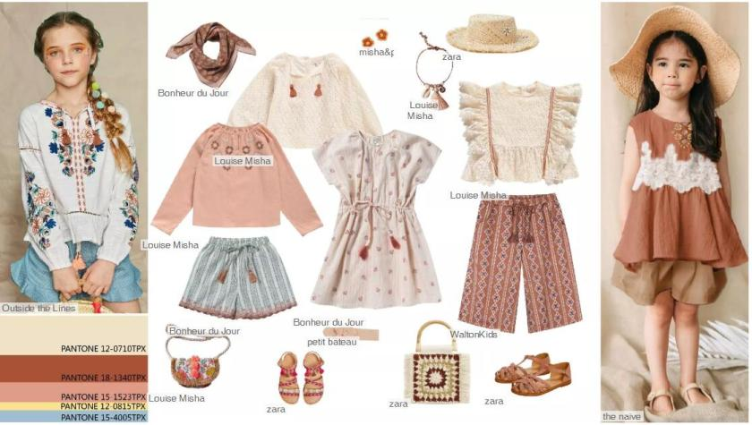 Romantic Folk -- Clothing Collocation