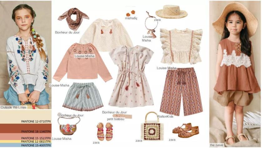 Romantic Folk -- Clothing Collocation