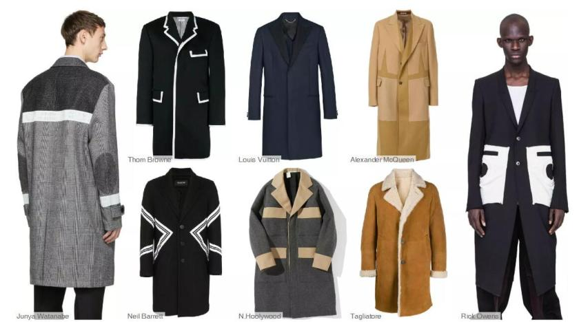 The Three-Button Mid-Length Coat -- Bold Contrast Colors