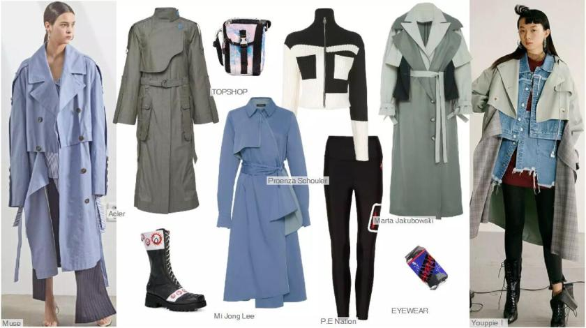 The Trench Coat With Attached Panels+ Microstructure
