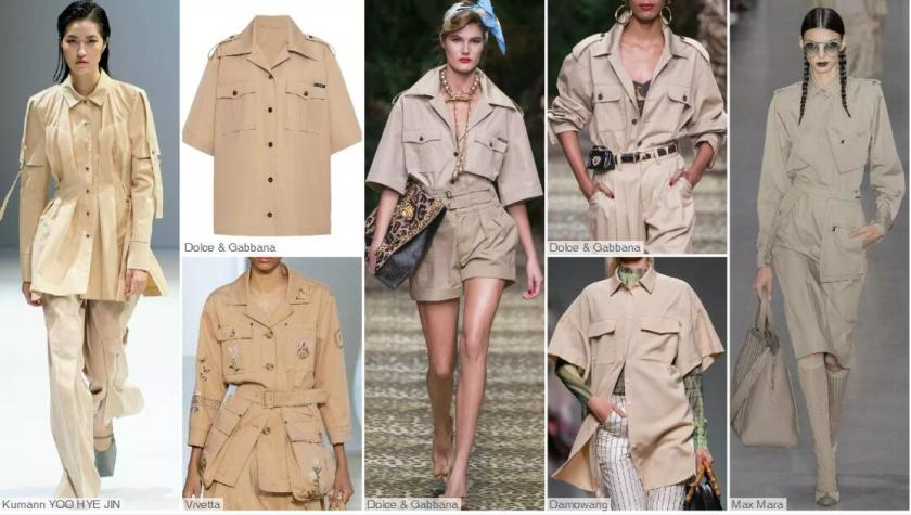 Catwalk Trend Workwear Military Style
