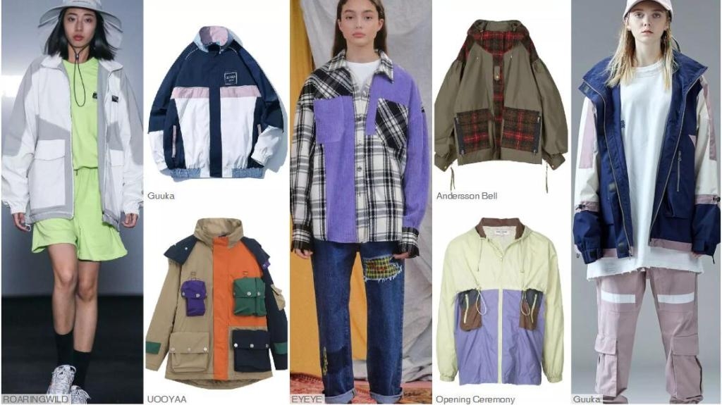 Deconstructed and Spliced Jackets