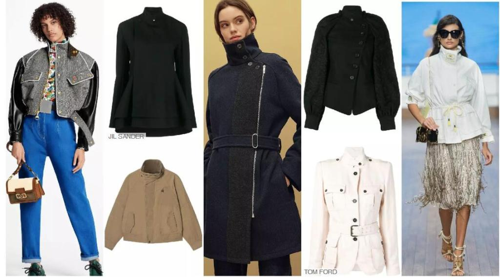Exquisite Stand-up Collar Jackets