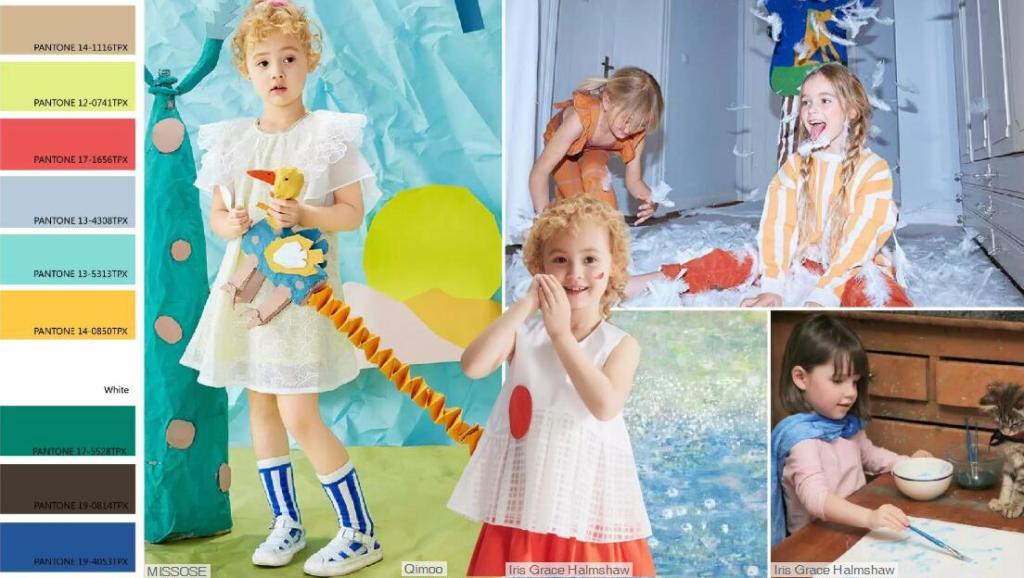 kidswear color