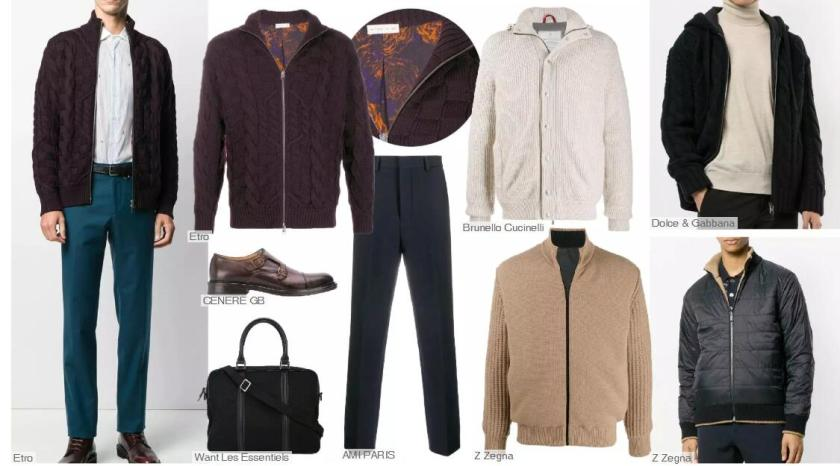 Knitwear Jackets with Lining