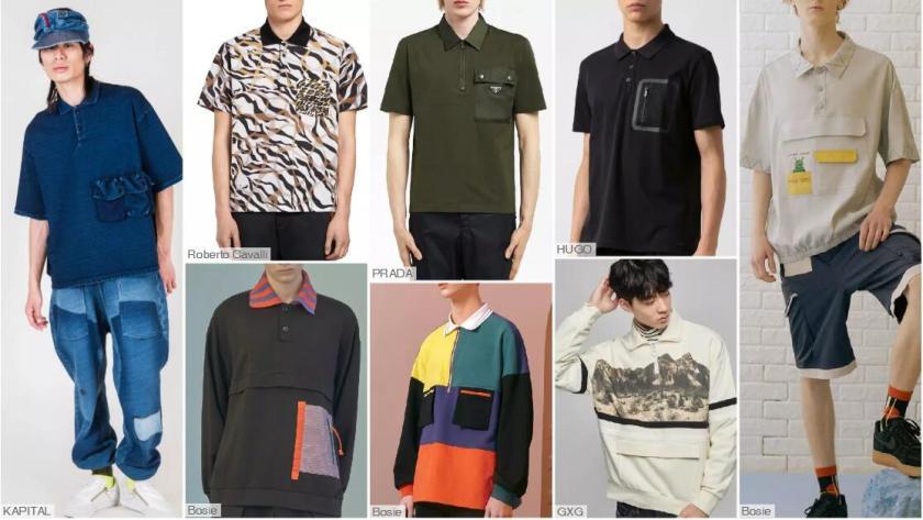 The Decorative Pocket Polo Shirt