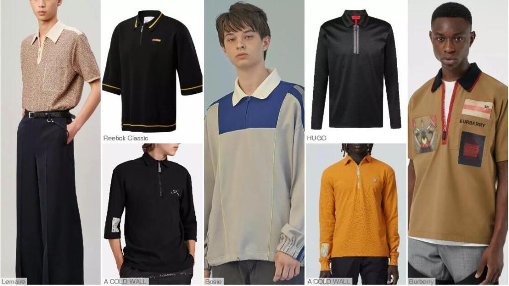 The Zipper Placket Polo Shirt
