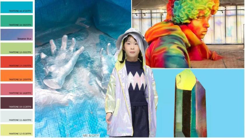 Colors -- Multicolored Space Colors