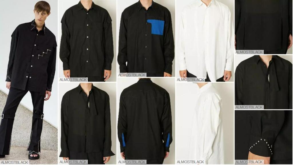 Simple Black and White Shirts