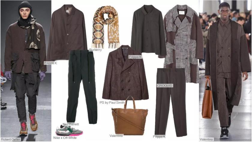 Deep Mahogany Clothing Collocation