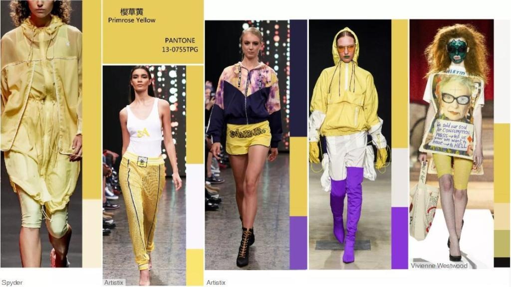 Primrose Yellow -- Catwalk Looks