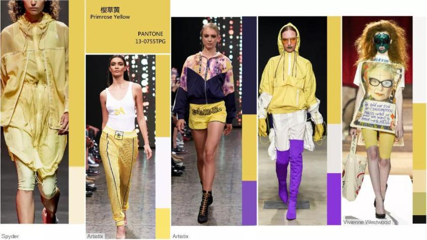 Primrose Yellow -- Catwalk Looks