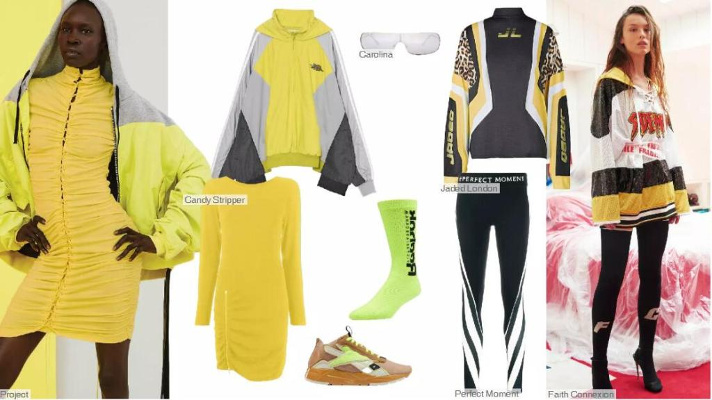 Primrose Yellow -- Clothing Collocation