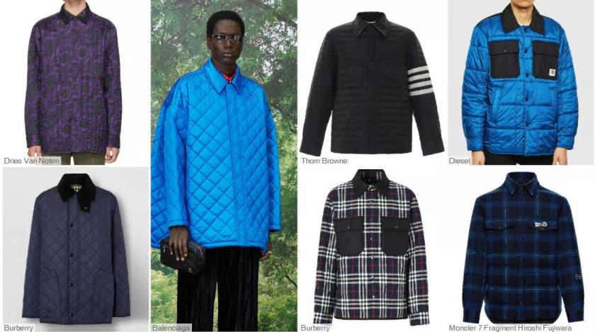 Shirt-style Puffa Jackets