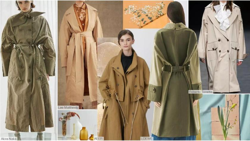 The Drop-shoulder Trench Coat