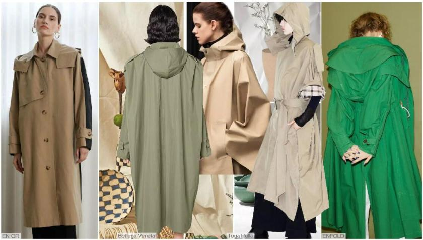 The Hooded Trench Coat