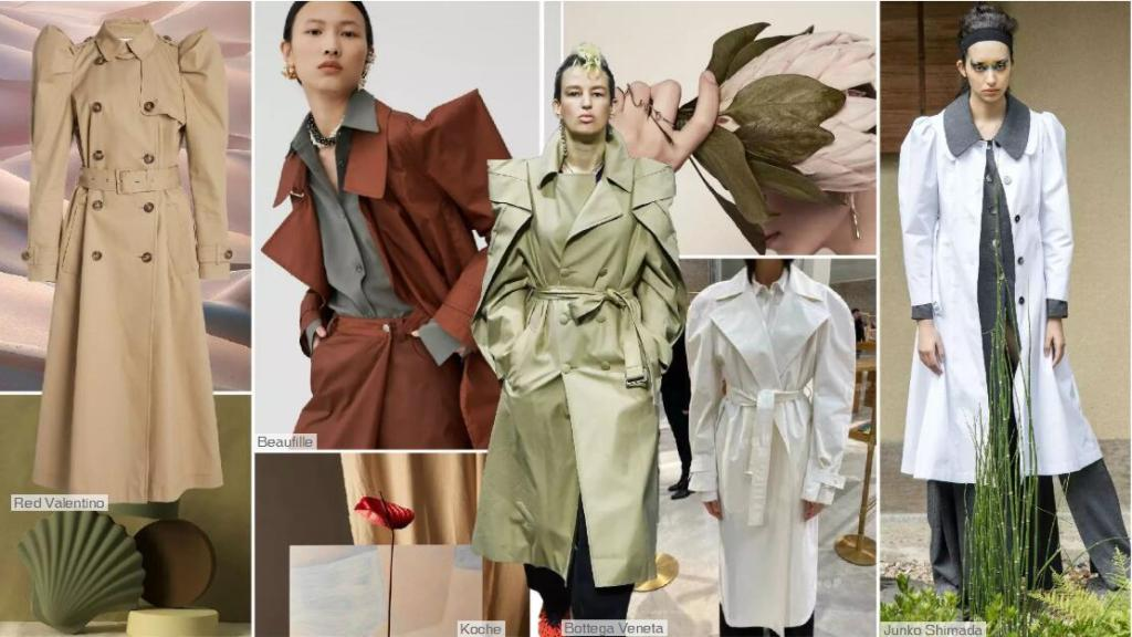 The Trench Coat with 3D Sleeves