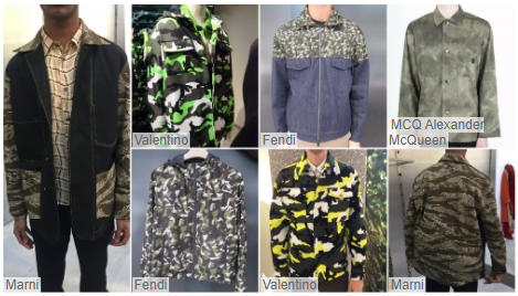 Transformed Camouflage fashion style