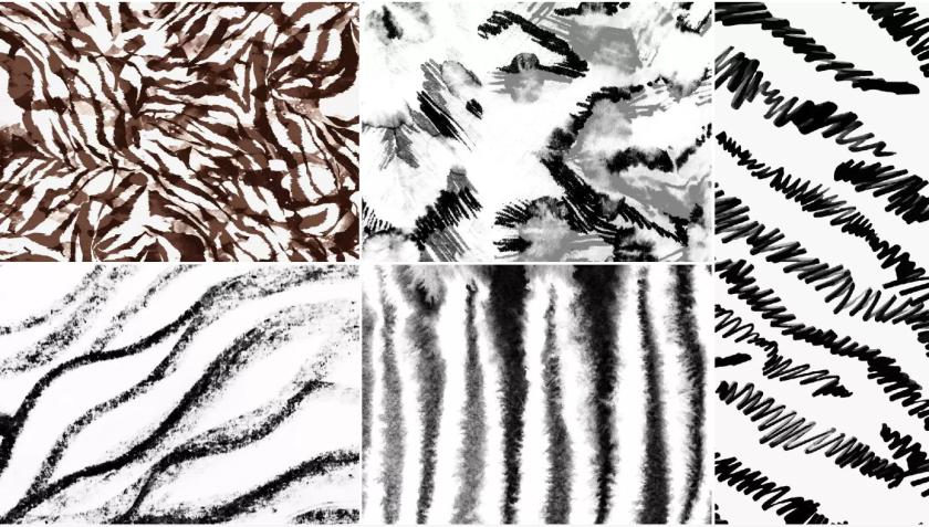 Textural Brushstrokes