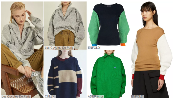 Women's Knitwear Sweatshirts