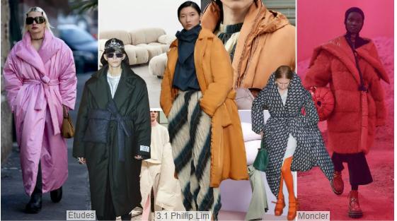 Long Overcoat-style Puffa Jackets
