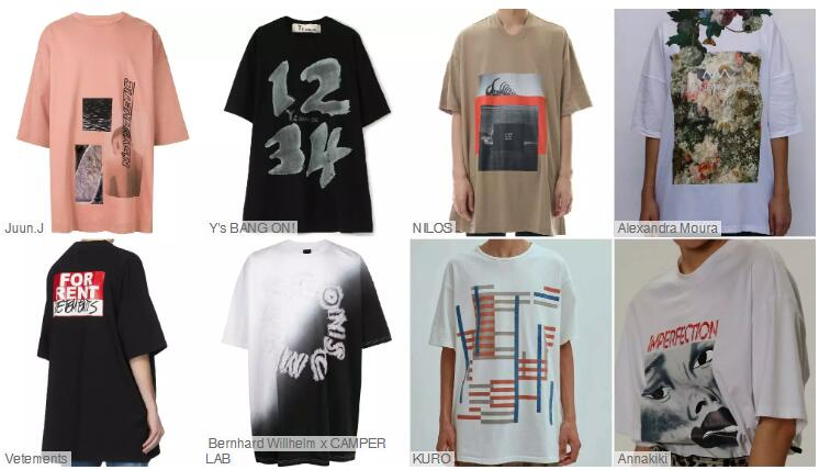 Loose Short-sleeved T-shirts