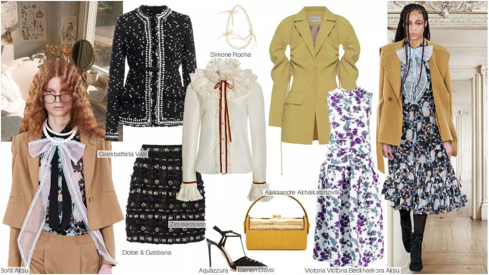 Womenswear retro style