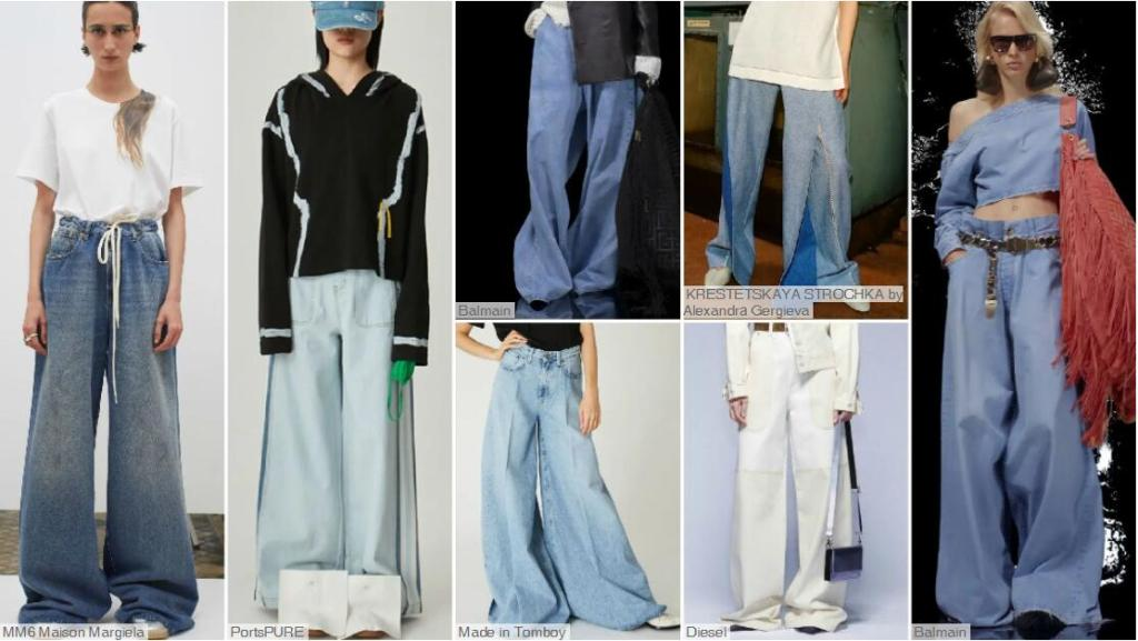 Voluminous Long Pants