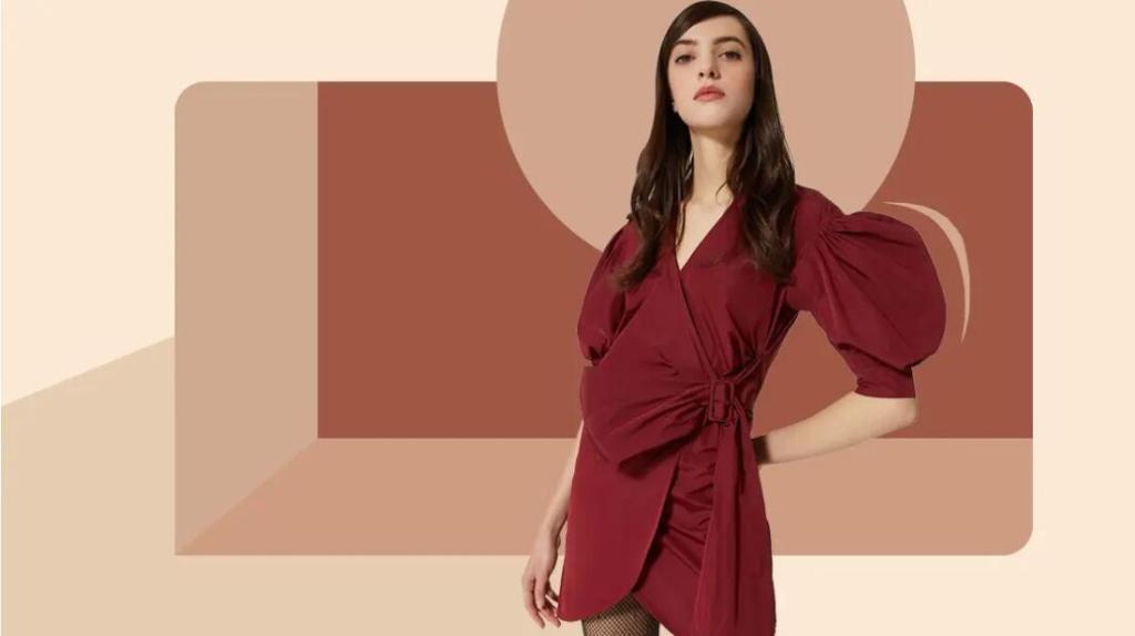 Women's Sleeve Shaping Dress
