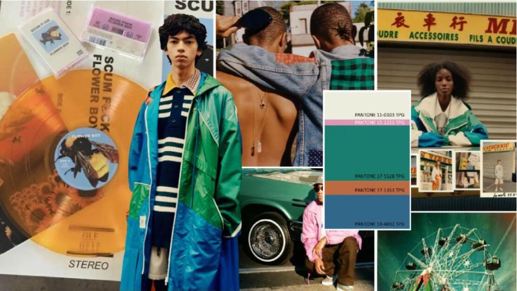 Menswear color