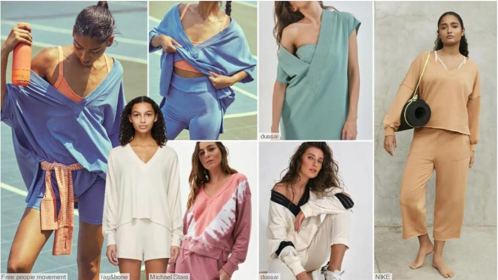 Women's Delicate Athleisure Clothes