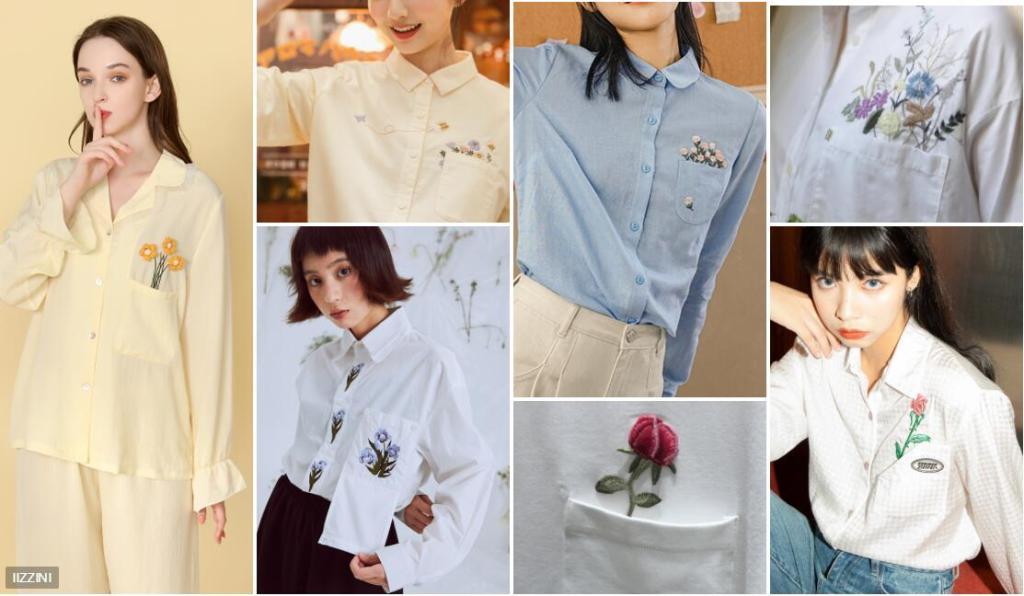 Women's Delicate Placement Loungewear