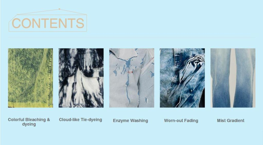 Women's Indigo Washing Denim