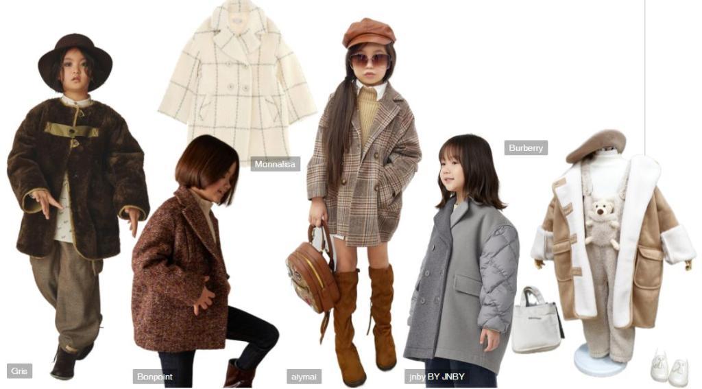 Kids' Golden Childhood Overcoat
